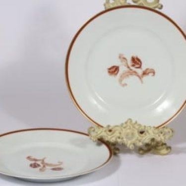 Arabia koriste 3314 lautaset, matala, 2 kpl, suunnittelija , matala, siirtokuva
