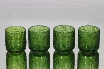 Riihimäen lasi Grapponia juomalasit, 16 cl, 4 kpl, suunnittelija Nanny Still, 16 cl, pieni