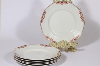 Arabia Timo lautaset, matala, 6 kpl, suunnittelija , matala, painokoriste