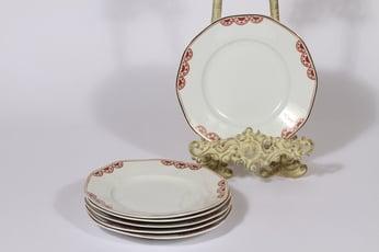 Arabia Timo lautaset, pieni, 6 kpl, suunnittelija , pieni, painokoriste