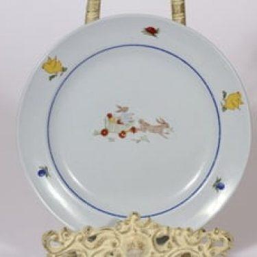 Arabia Pupu lasten lautanen, suunnittelija , serikuva