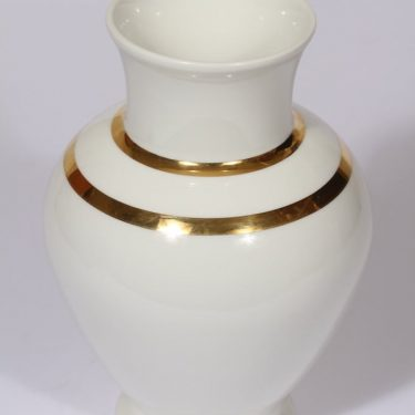Arabia vase, white, Richard Lindh