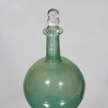 Riihimäen lasi Tzarina koristepullo, signeerattu, suunnittelija Nanny Still, signeerattu, pieni