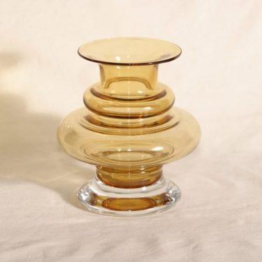Riihimäen lasi Tornado maljakko, signeerattu, suunnittelija Tamara Aladin, signeerattu