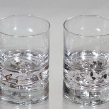 Nuutajärvi Himalaja lasit, 30 cl, 2 kpl, suunnittelija Björn Weckström, 30 cl