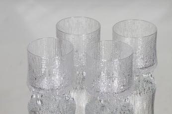 Iittala Ultima Thule lasit, 27 cl, 4 kpl, suunnittelija Tapio Wirkkala, 27 cl