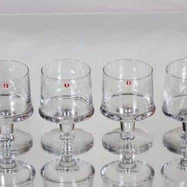 Iittala Marski lasit, 15 cl, 4 kpl, suunnittelija Tapio Wirkkala, 15 cl
