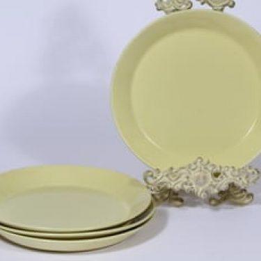 Arabia Kilta lautaset, matala, 4 kpl, suunnittelija Kaj Franck, matala