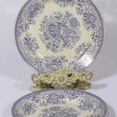 Arabia Fasaani lautaset, matala, 2 kpl, suunnittelija , matala, kuparipainikoriste