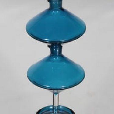Riihimäen lasi Harlekiini etikka- ja öljykaadin, 2-osainen, suunnittelija Nanny Still, 2-osainen