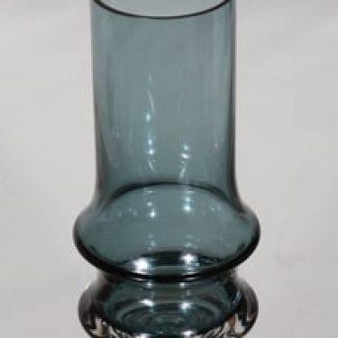 Riihimäen lasi Reimari maljakko, harmaa, suunnittelija Tamara Aladin,