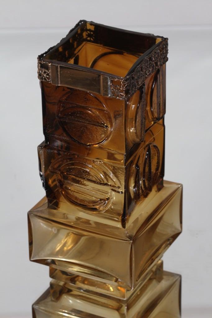 Turku silver 1012/S vase, brown, Pentti Sarpaneva