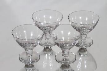 Nuutajärvi GN 46 cocktail-lasit, 10 cl, 4 kpl, suunnittelija Gunnel Nyman, 10 cl