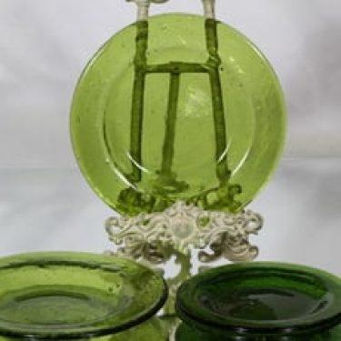 Humppila Talonpoika lautaset, vihreä, 2+2 kpl, suunnittelija , eri kokoja