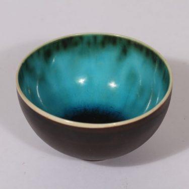 Arabia bowl, signed, designer Friedl Holzer-Kjellberg, small, casting glaze