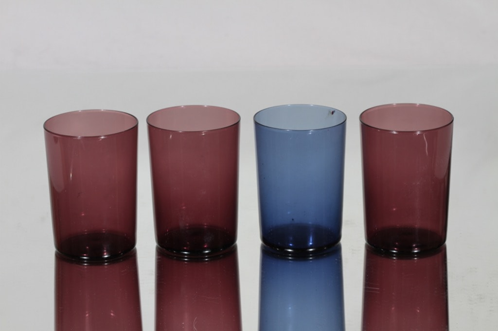 Iittala i-114 lasit, 18 cl, 4 kpl, suunnittelija Timo Sarpaneva, 18 cl, i-väri