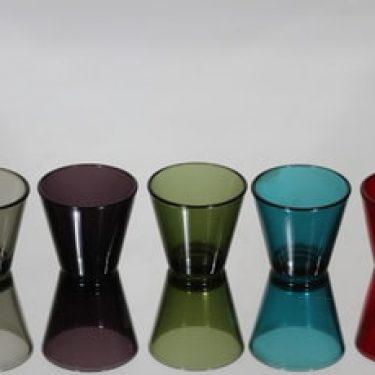 Iittala Kartio lasit, 6 cl, 5 kpl, suunnittelija Kaj Franck, 6 cl, pieni