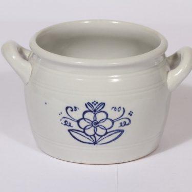 Arabia B 1 ruukku, kukkakuvio, suunnittelija , kukkakuvio, kobolttimaalaus, 1 l