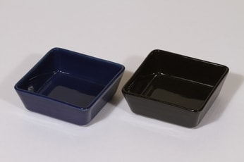 Arabia Kilta kulhot, sininen musta, 2 kpl, suunnittelija Kaj Franck, pieni