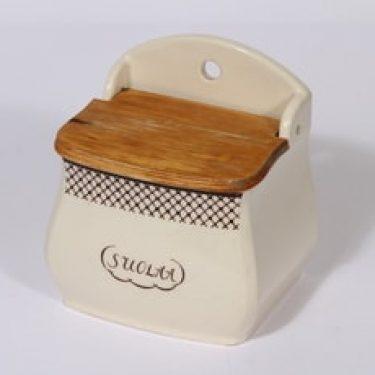 Arabia tekstikuvio suola-astia, suunnittelija ,