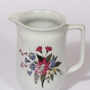 Arabia kukkakuvio kaadin, 1.5 l, suunnittelija , 1.5 l, siirtokuva, kukka-aihe