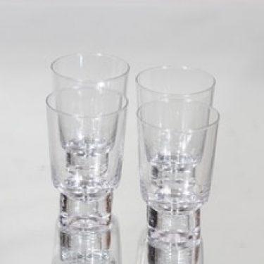 Iittala Future lasit, 12 cl, 4 kpl, suunnittelija Tapio Wirkkala, 12 cl