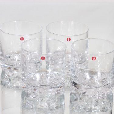 Iittala Gaissa lasit, 20 cl, 4 kpl, suunnittelija Tapio Wirkkala, 20 cl