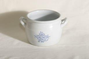 Arabia B pot, flower decoration, cobalt painting, 1 l