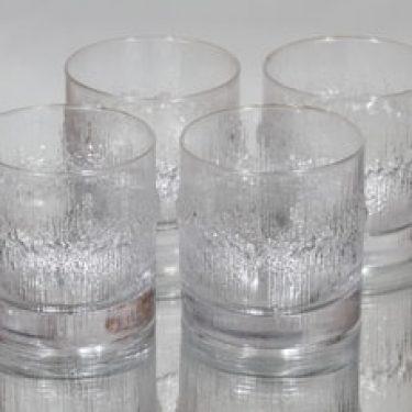 Iittala Niva viskilasit, 32 cl, 4 kpl, suunnittelija , 32 cl, suuri