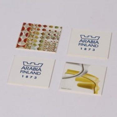 Arabia muistipeli, 96 osaa, suunnittelija , 96 osaa