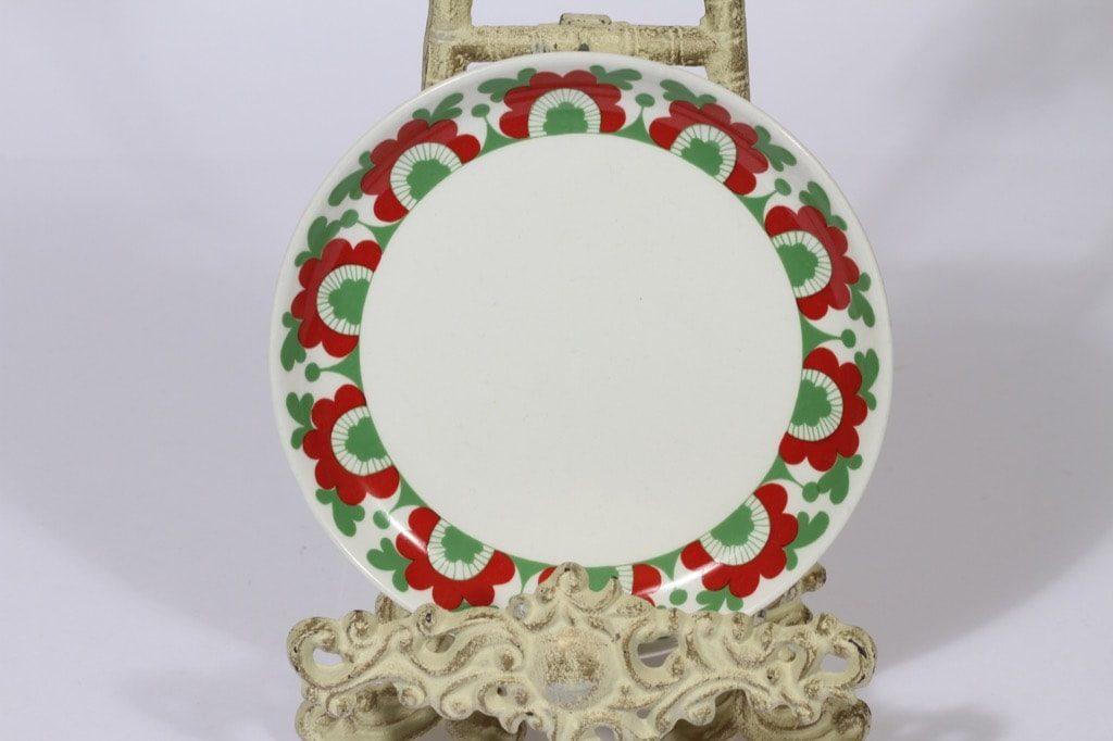 Arabia Unkari lautanen, suunnittelija , pieni, serikuva