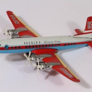 Douglas lelu, lentokone, DC-7C, suunnittelija , lentokone, DC-7C, maalattu, pelti