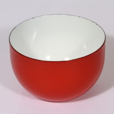 Finel kulho, punainen, suunnittelija Kaj Franck, pieni