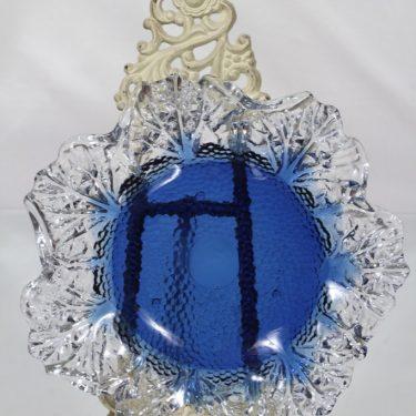 Humppila Kasvimaalla vati, sininen|kirkas, suunnittelija Pertti Santalahti,