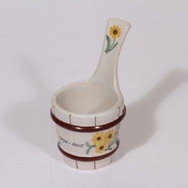 Kupittaan savi koriste-esine, käsinmaalattu, suunnittelija , käsinmaalattu, pieni, käsinmaalattu