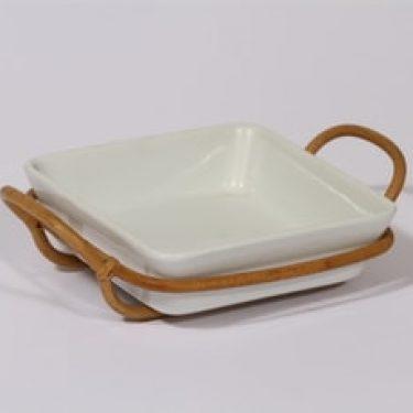 Arabia Kilta kulho, valkoinen lasite, suunnittelija Kaj Franck, pieni