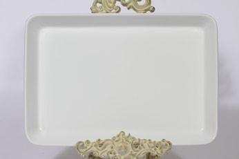Arabia Kilta vati, valkoinen lasite, suunnittelija Kaj Franck,