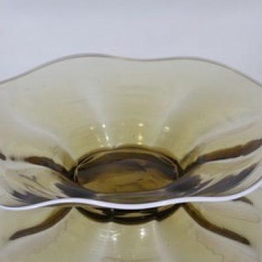 Kauklahden lasi vati, ruskea, suunnittelija ,