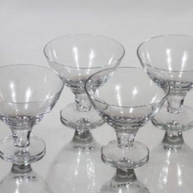 Nuutajärvi GN 46 cocktail-lasit, 8 cl, 4 kpl, suunnittelija Gunnel Nyman, 8 cl, 8 cl