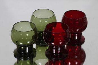 Nuutajärvi 1111 lasit, 15 cl, 4 kpl, suunnittelija Kaj Franck, 15 cl, 15 cl