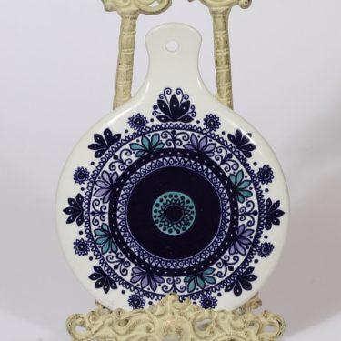 Arabia Venus peili, käsinmaalattu, suunnittelija Hilkka-Liisa Ahola, käsinmaalattu, signeerattu, käsinmaalattu