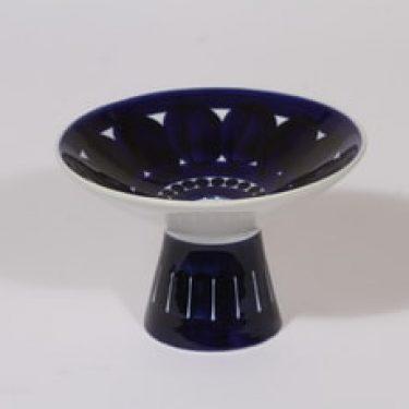 Arabia Valencia kynttilänjalka, käsinmaalattu, suunnittelija Ulla Procope, käsinmaalattu, pieni, käsinmaalattu
