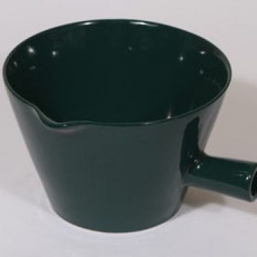 Arabia Kilta kaadin, vihreä, suunnittelija Kaj Franck, suuri