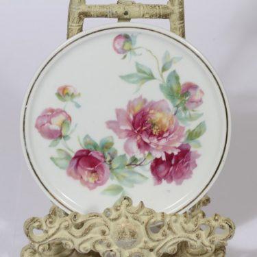 Arabia kukkakuvio talouslevy, kukkakuvio, suunnittelija , kukkakuvio, siirtokuva, kukkakuvio