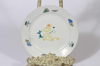 Arabia Muumi lasten lautanen, suunnittelija Tove Slotte, pieni