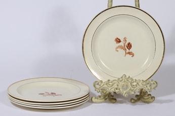 Arabia koriste numero 3314 lautaset, 5 kpl, suunnittelija , siirtokuva