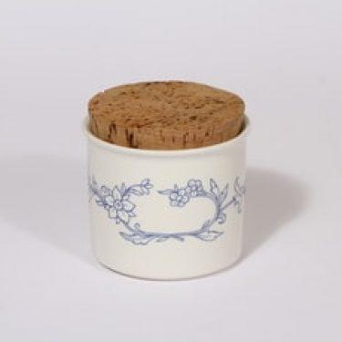 Arabia Sininen keittiö maustepurkki, valkoinen, suunnittelija ,