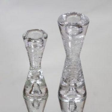 Iittala Arkipelago kynttilänjalat, eri kokoja, 2 kpl, suunnittelija Timo Sarpaneva, eri kokoja, pieni, eri kokoja