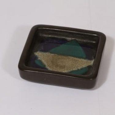 Arabia vati, käsinmaalattu, suunnittelija Brita Heilimo, käsinmaalattu, pieni, käsinmaalattu, signeerattu