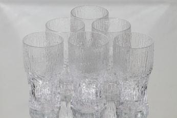 Iittala Aslak lasit, 30 cl, 6 kpl, suunnittelija Tapio Wirkkala, 30 cl, 30 cl
